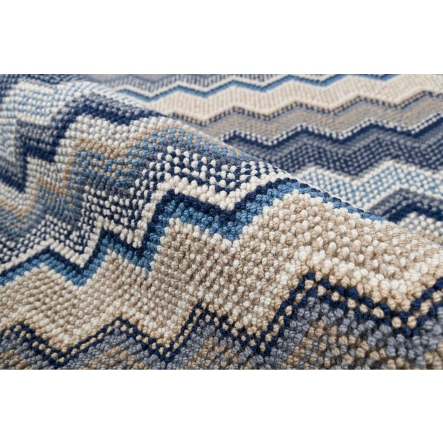 Stark Studio Rugs, Forlini, Cobalt , 5' X 8' For Sale - Image 6 of 7