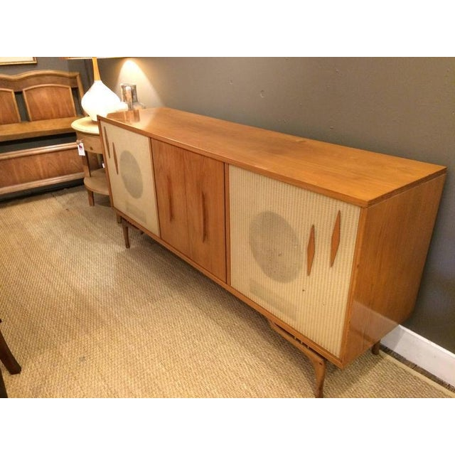 Mid-Century Modern Stereo Cabinet & Dry Bar - Image 8 of 9