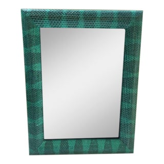 Snakeskin Turquoise Picture Frame For Sale