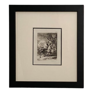 Late 18th Century Rembrandt Etching #13, by Francesco Novelli For Sale