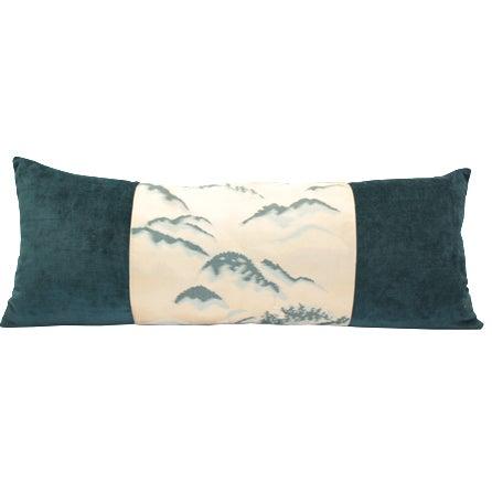 Blue Mountain Obi Pillow For Sale