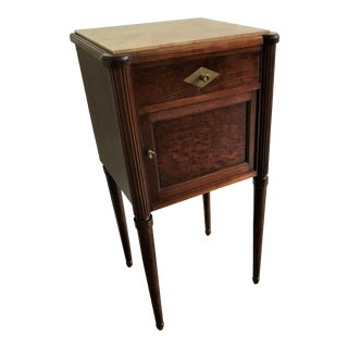 Antique French Directoire Style Mahogany Chevet For Sale