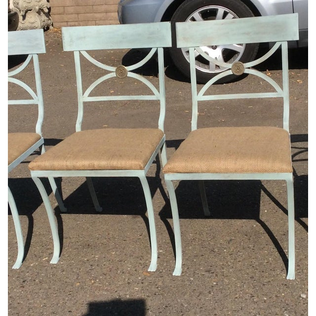 French Empire Chairs - Set of 4 For Sale - Image 4 of 11