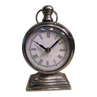 Traditional Style Mantle Clock For Sale