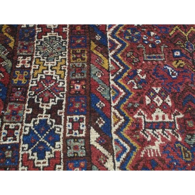 """Blue Shiraz """"Birds"""" Carpet For Sale - Image 8 of 10"""