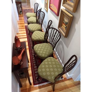 Late 20th Century Traditional Theodore Alexander Solid Wood Chairs - Set of 6 Preview