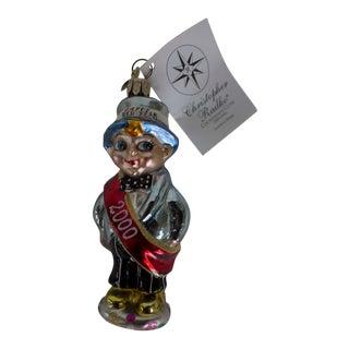2000 Christopher Radko Countdown Cutie Ornament For Sale
