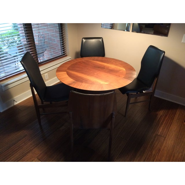 Mid Century Table & Chairs Dining Set - Image 5 of 11