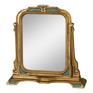 Florentine Gilded Tilting Table Mirror For Sale
