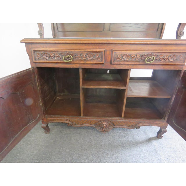 Louis XV Style Normandy Cupboard For Sale - Image 12 of 13
