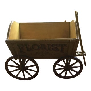 Hand Painted English Wagon