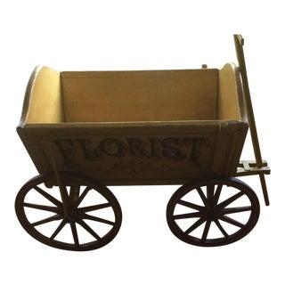 Hand Painted English Wagon