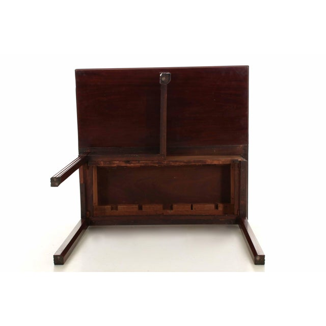 American Chippendale Period Mahogany Antique Card Table, late 18th century For Sale - Image 11 of 11