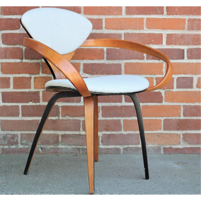 1950s 1950s Vintage Norman Cherner for Plycraft Molded Plywood Dining Chairs- Set of 6 For Sale - Image 5 of 13