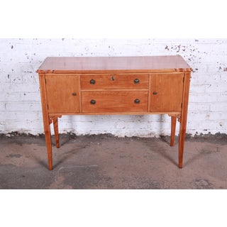 Antique Maple Sideboard Buffet by Frank & Son of Chicago Preview
