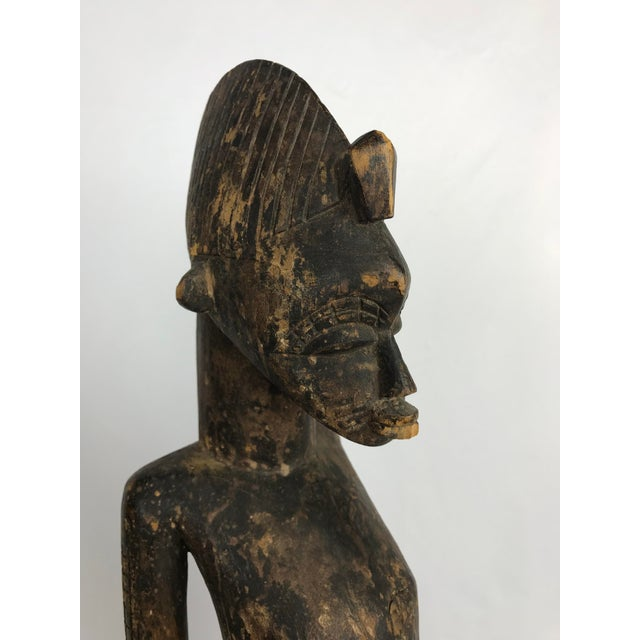 Mid 20th Century 20th Century African Senufo or Ivory Coast Fertility Sculpture For Sale - Image 5 of 10