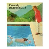 """Image of """" David Hockney Pictures """" Vintage 1979 First Edition Lithograph Print Pop Art Book For Sale"""