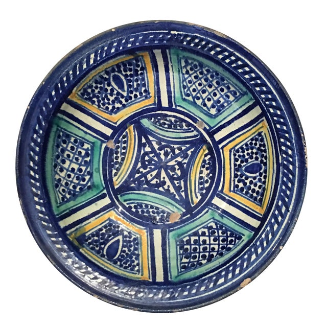 Moroccan Antique Bowl For Sale