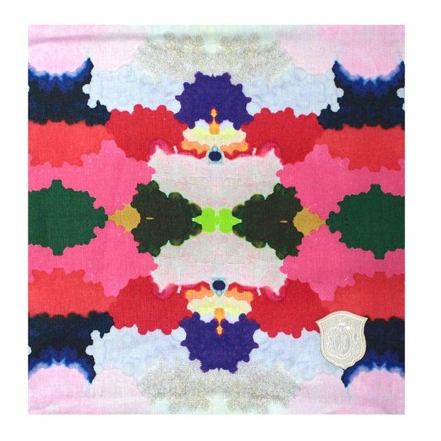 Kristi Kohut Colorful World Pillow - Image 2 of 3