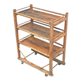 Antique Étagère Rolling Cart For Sale