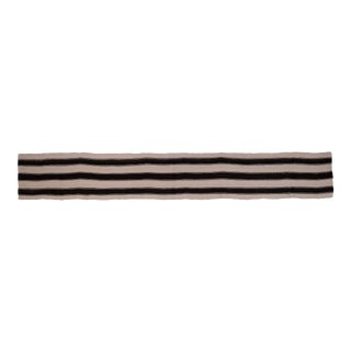 "Vintage Striped Long Turkish Hemp Kilim Rug 2'3"" X 15'3"" For Sale"