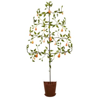 Italian Tole Pear Tree For Sale