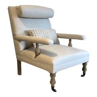 Restoration Hardware Captain H M Seymours Arm Chair For Sale