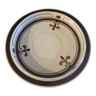 Rosenthal Stoneware Pottery Platter Plate Continental Siena Bjorn Wiinblad For Sale