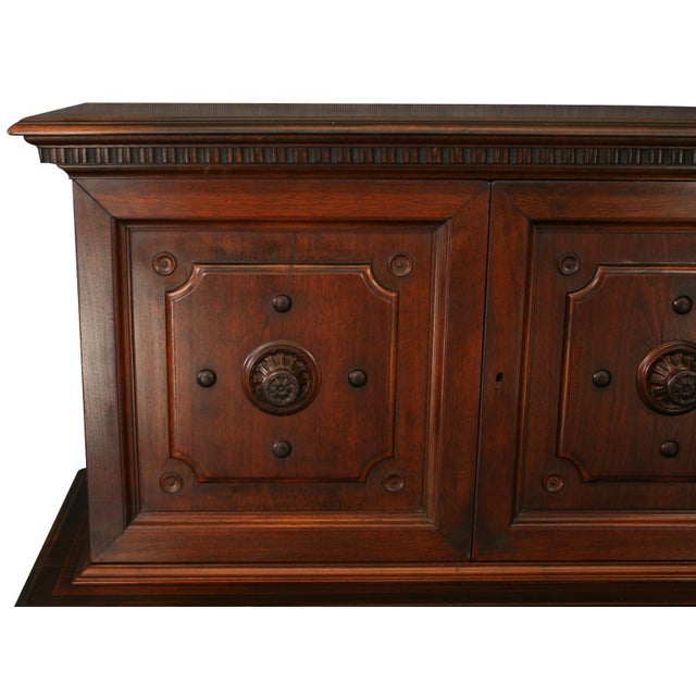 Antique 1900s Mahogany Cabinet - Image 3 of 8