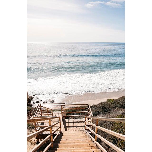 """""""El Matador Beach"""" Original Framed Photograph For Sale - Image 4 of 4"""