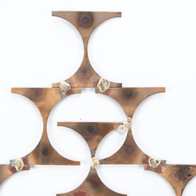 Modern Wall Sconce Sculpture by Mark Weinstein For Sale - Image 4 of 12