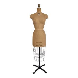 1950s Mannequin Adjustable Dress Form For Sale