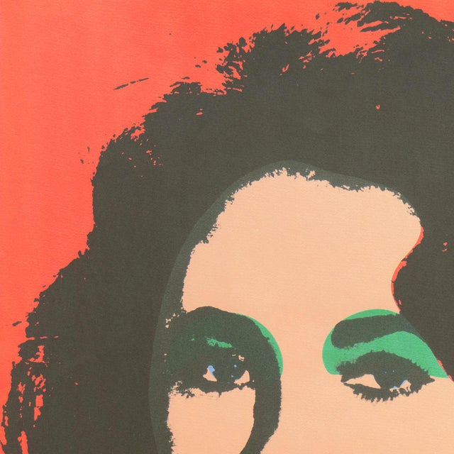 Liz', After Andy Warhol, 1969; Elizabeth Taylor, Hollywood, Pop Art, Chelsea, New York, the Factory For Sale - Image 6 of 8