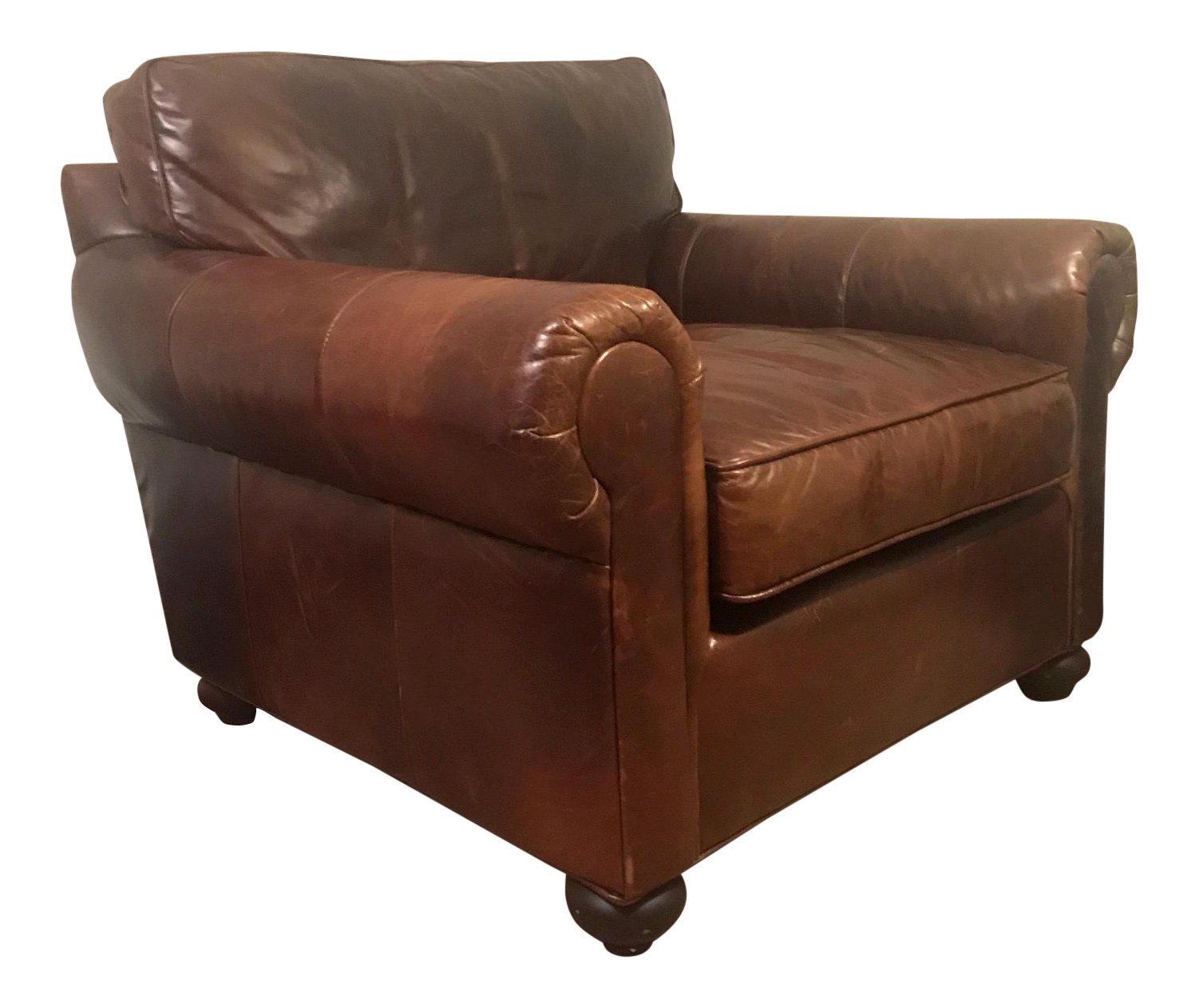 Restoration Hardware Lancaster Leather Chair