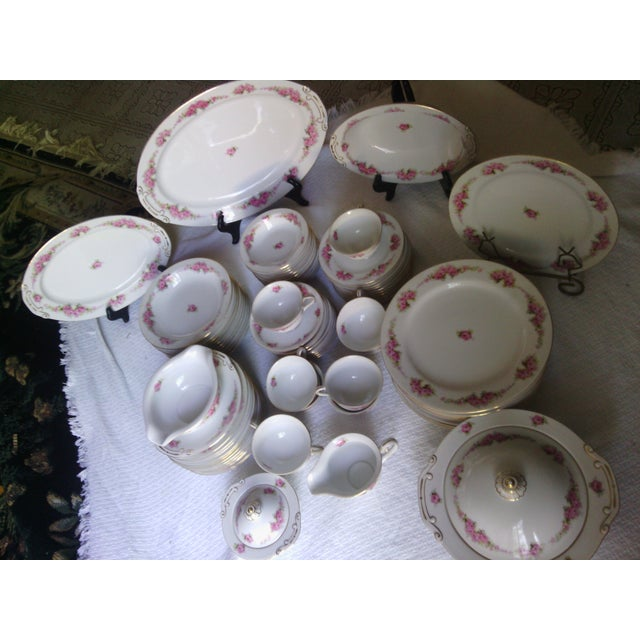 Orion Fine China Dinnerware Set - 89 Pieces - Image 5 of 11