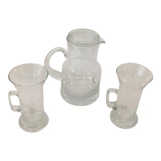 Tiffany & Co. Pitcher and Glasses - Set of 3 For Sale