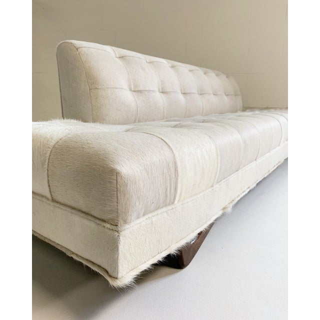 Adrian Pearsall Sofa in Brazilian Cowhide For Sale - Image 9 of 13
