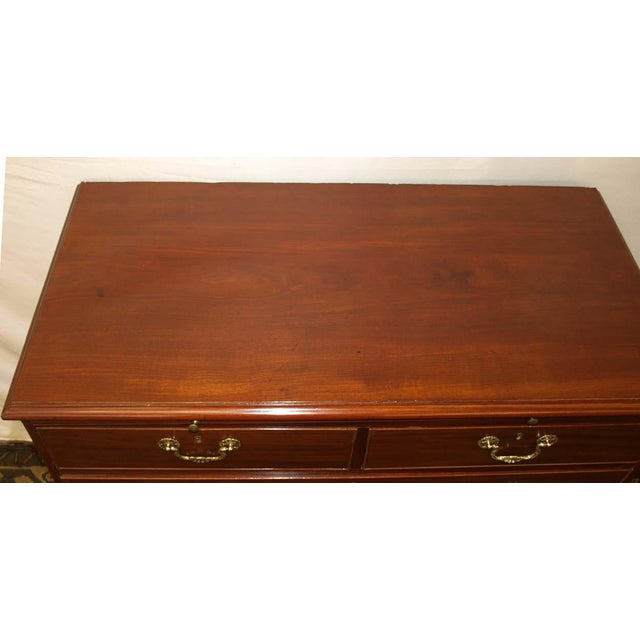 19th Century English Chippendale Chest of Drawers For Sale In Raleigh - Image 6 of 10