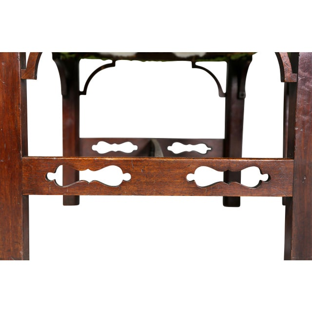 Pair of George III Mahogany Footstools For Sale - Image 9 of 13