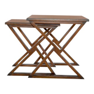 Sarreid Ltd Triangle Play Nesting Tables - a Set For Sale