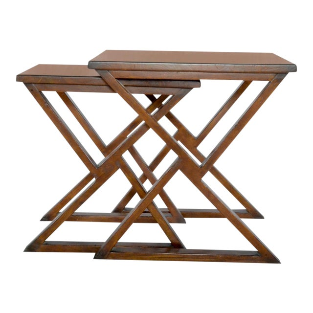 Sarreid Ltd Triangle Play Nesting Tables A Set