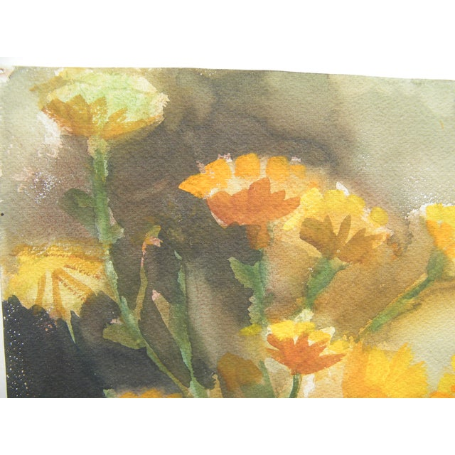 Vintage Still Life Svensto Watercolor Painting - Image 3 of 9