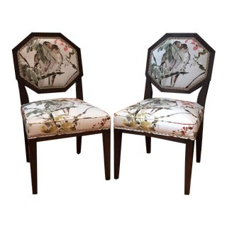 Mary McDonald for Chaddock Chantal Side Chairs - A Pair