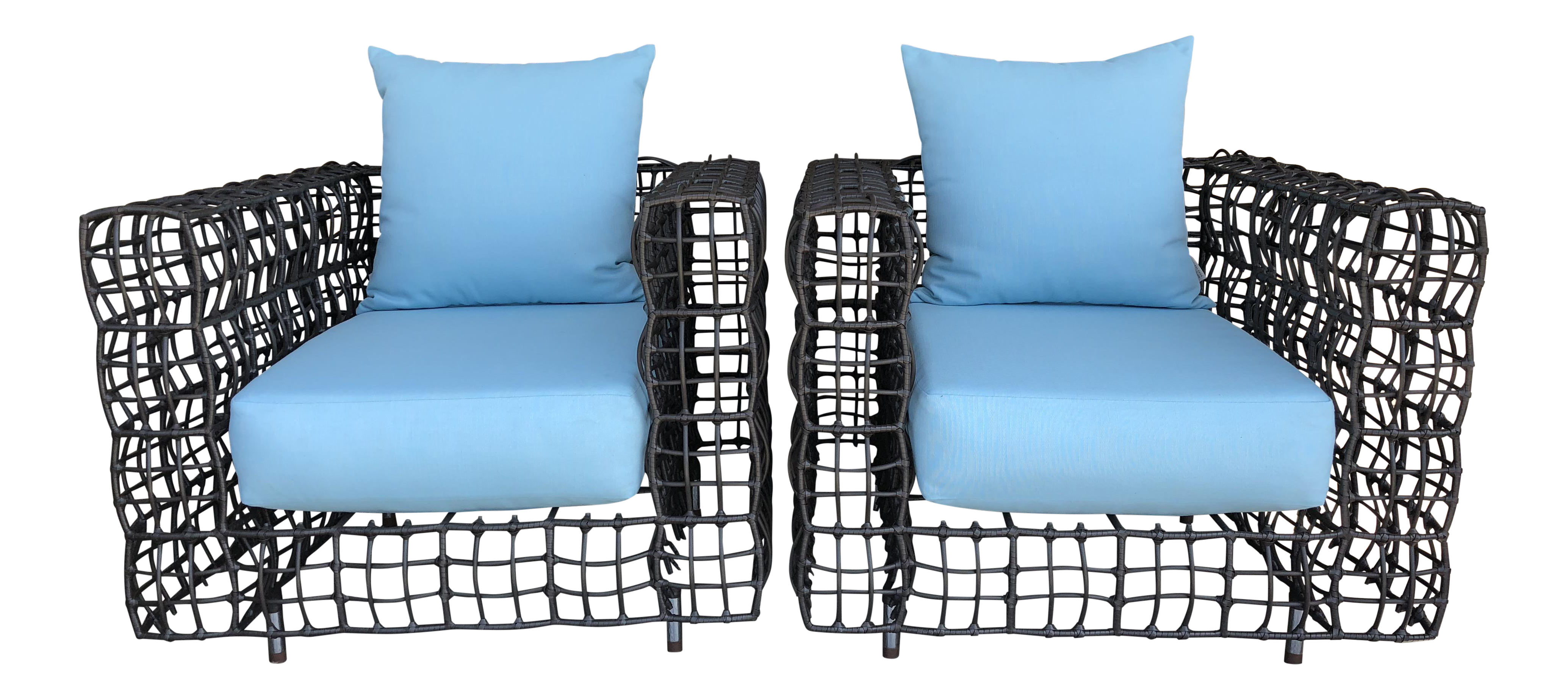 Janus Et Cie Easy Lounge Chairs   A Pair