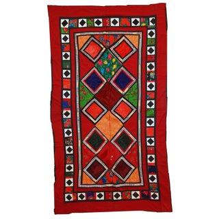 Handmade Vintage Uzbek Patchwork Suzani For Sale