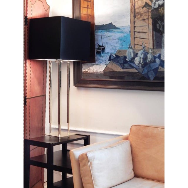 Pair of Stiffel Parzinger Style Lamps - Image 10 of 10