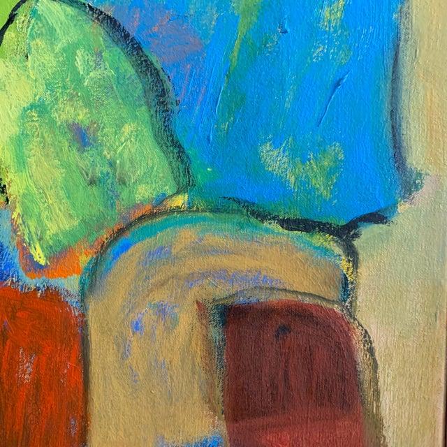 "Canvas ""Ravel"" O/C by Eva Breyer, Danish, 2001 For Sale - Image 7 of 9"