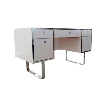 Milo Baughman Dia Executive Desk For Sale