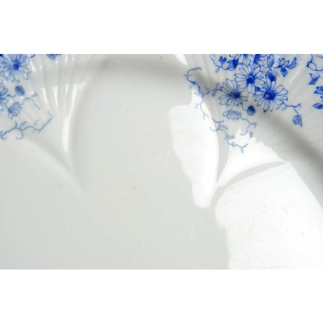 Shelley Shelley Dainty Blue Salad Plate Set/6 For Sale - Image 4 of 6