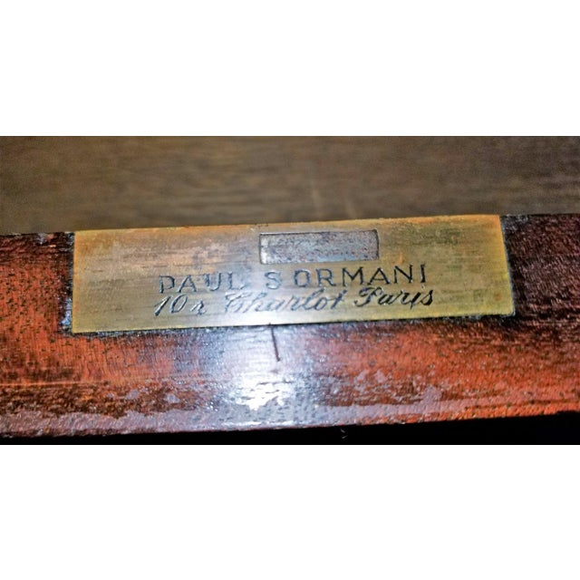 19th Century Louis XVI Style Desk by Paul Sormani For Sale - Image 10 of 13